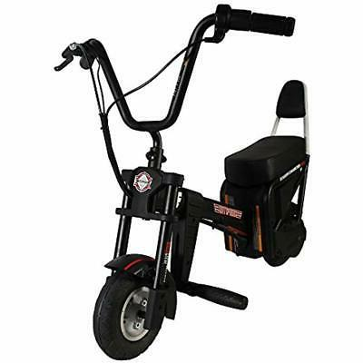 chopster e motorcycle black sports outdoors