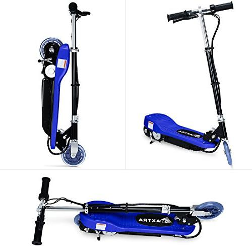 Maxtra E100 for kids Weight Capacity Motorized bike up to 12mph