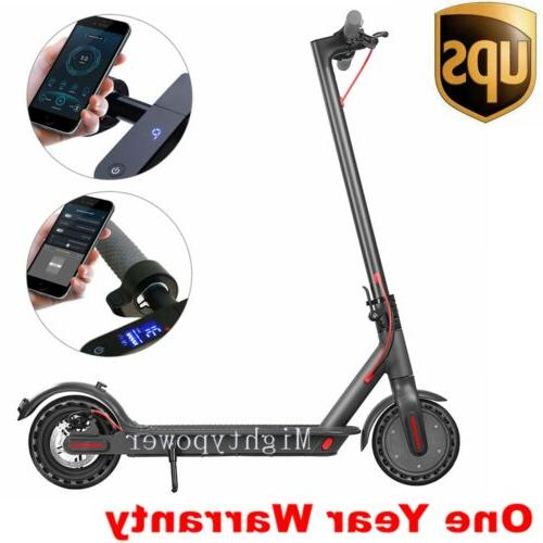 SWAGTRON City Commuter Electric Scooter, 18mph Cruise Control, Phone APP - Elite Official Ride Chicago