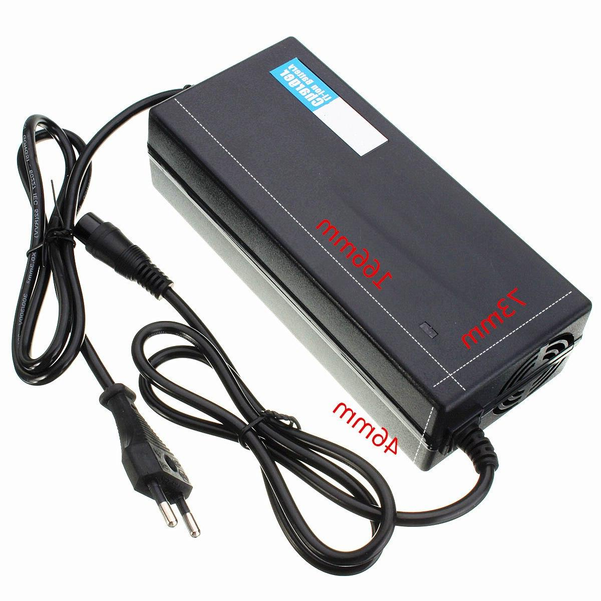 CLAITE 67.2V2A 67.2V 2A Li-ion <font><b>Electric</b></font> Self <font><b>Scooter</b></font> Smart Lithium <font><b>Battery</b></font> Power