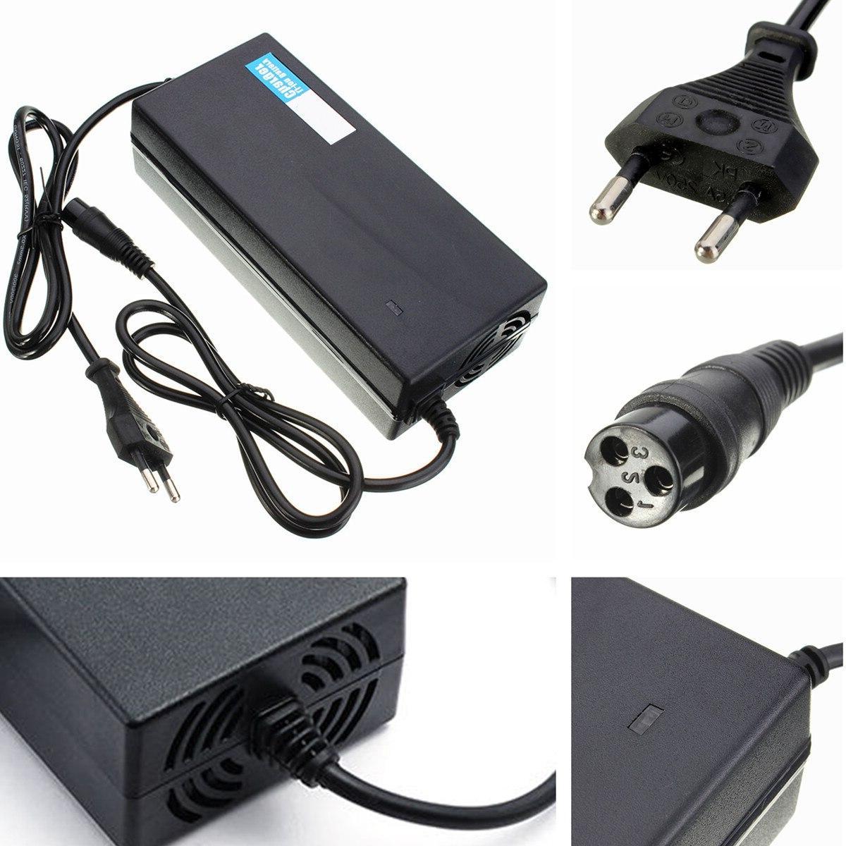 CLAITE 67.2V2A 67.2V Li-ion <font><b>Electric</b></font> Smart <font><b>Battery</b></font> <font><b>Charger</b></font> Power