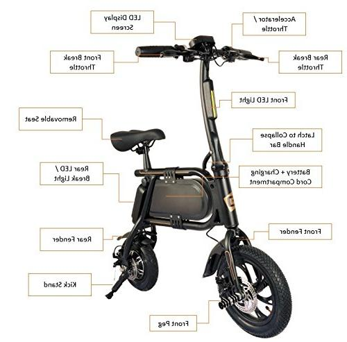 Hover-Way Electric Scooter 12 Mile Range