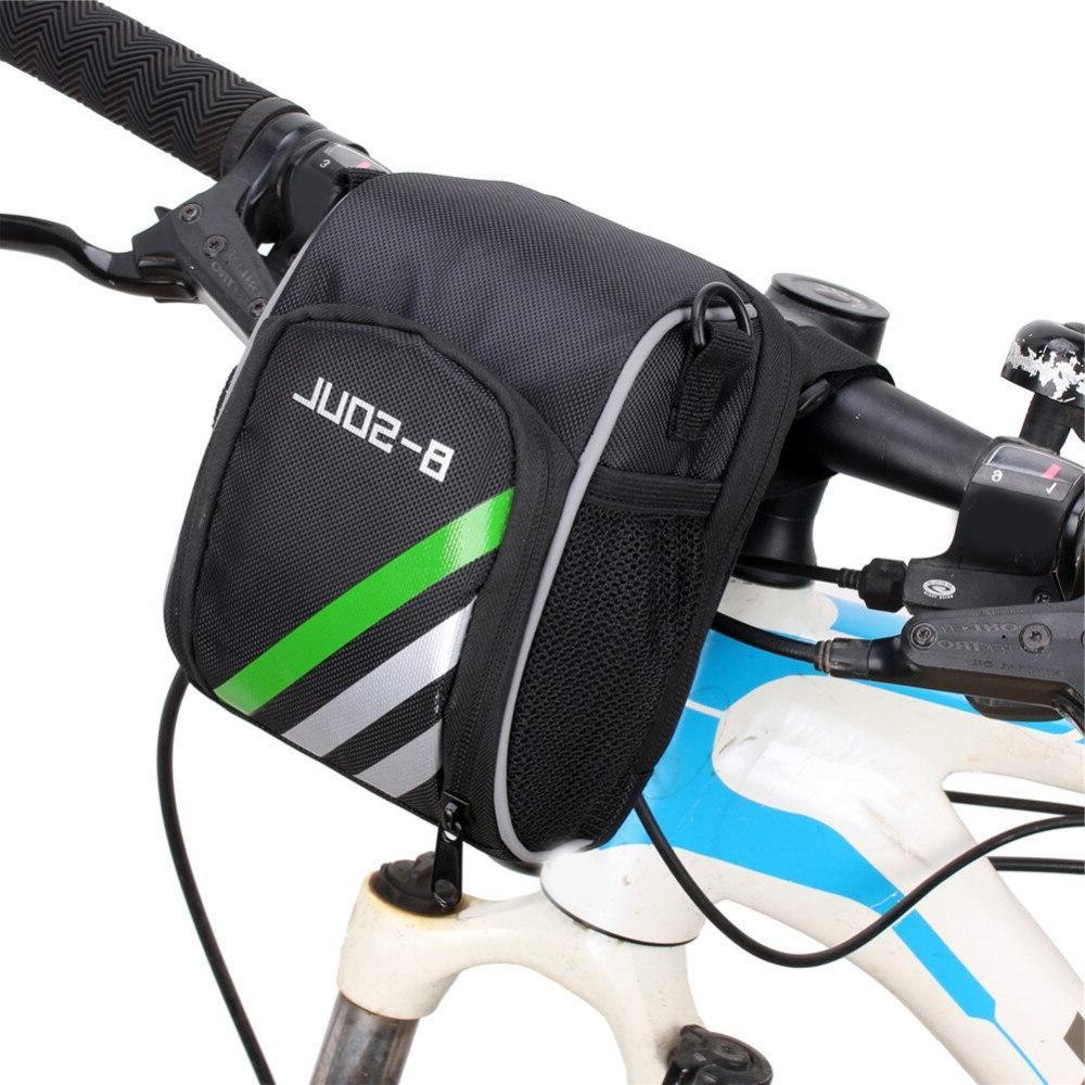 cycling mountain bicycle mtb bike handlebar bag