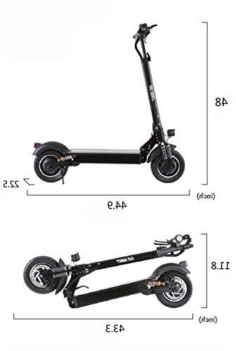 NANROBOT D4+ Motor Adult Electric Scooter Foldable Miles Long 40 MPH