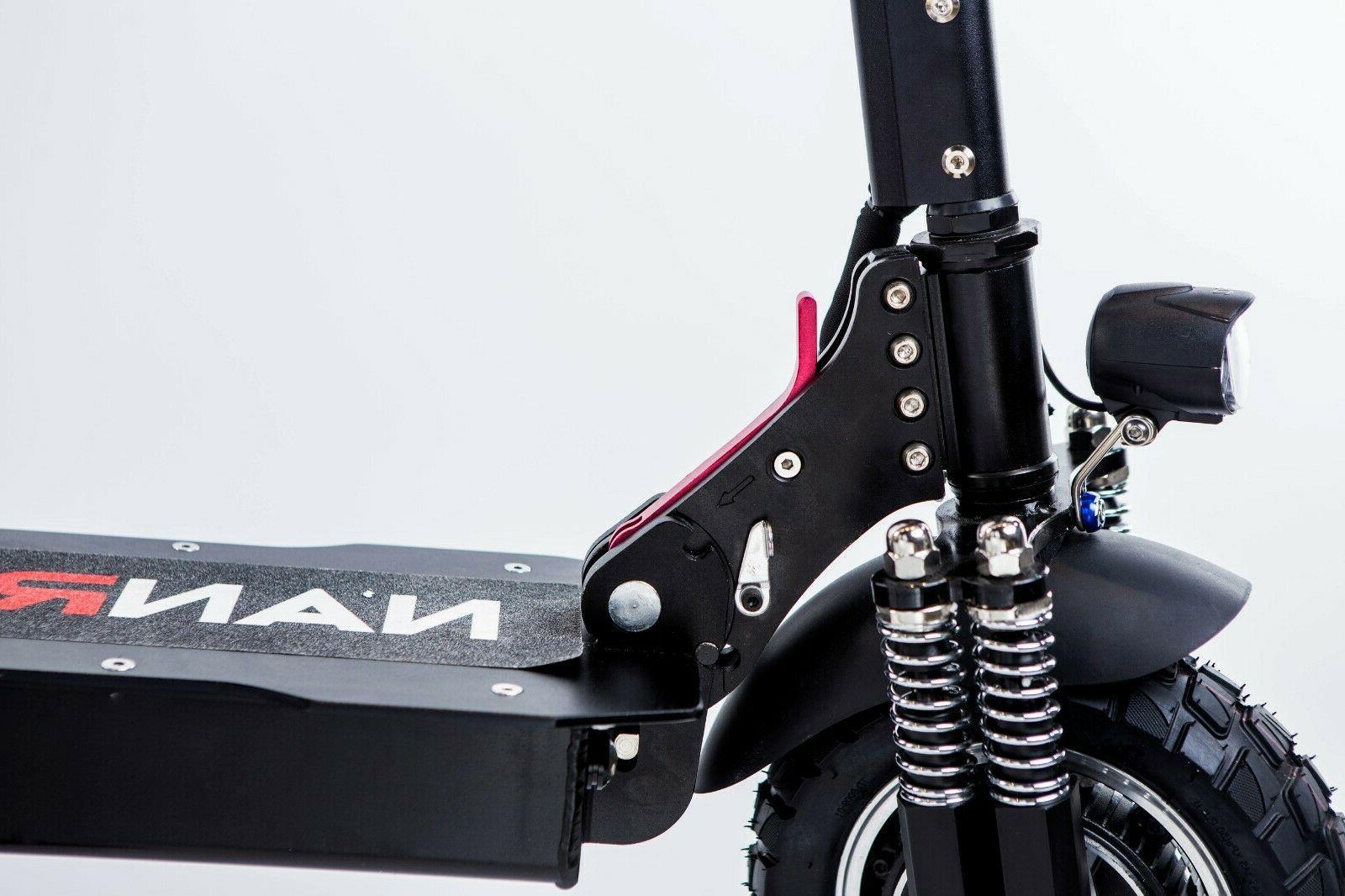 NANROBOT D4+2.0 Scooter dual Power speed