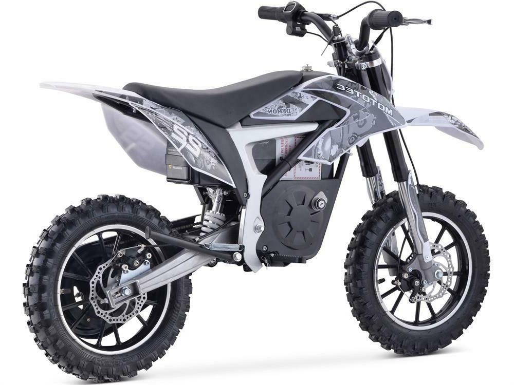 MotoTec Bike 36v White