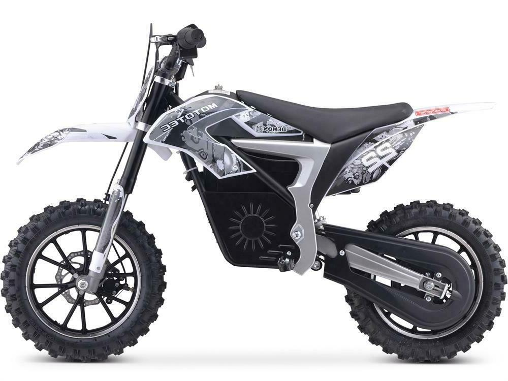 MotoTec Bike 500w Lithium White