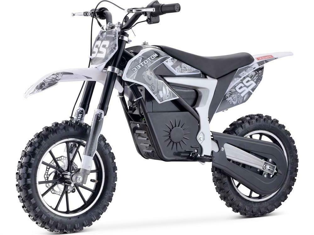 demon electric dirt bike 500w 36v lithium