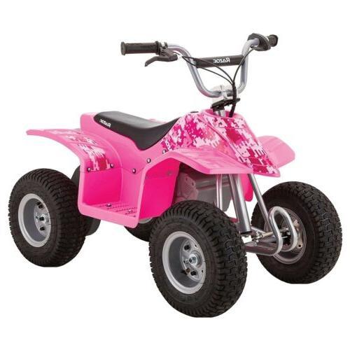 dirt quad pink digital pixel off roading
