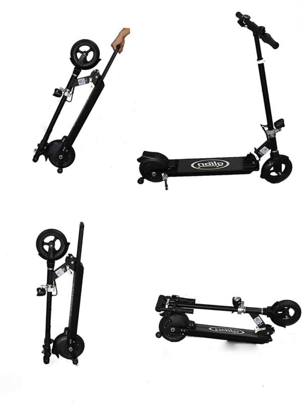 dolly foldable lightweight adult electric scooter w