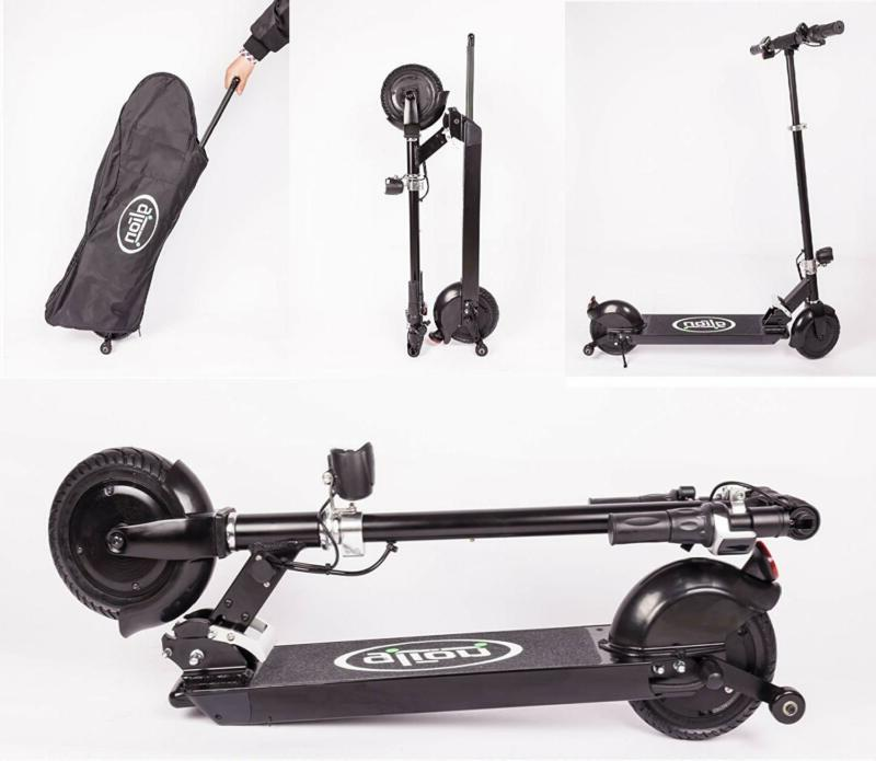dolly foldable lightweight adult electric scooter