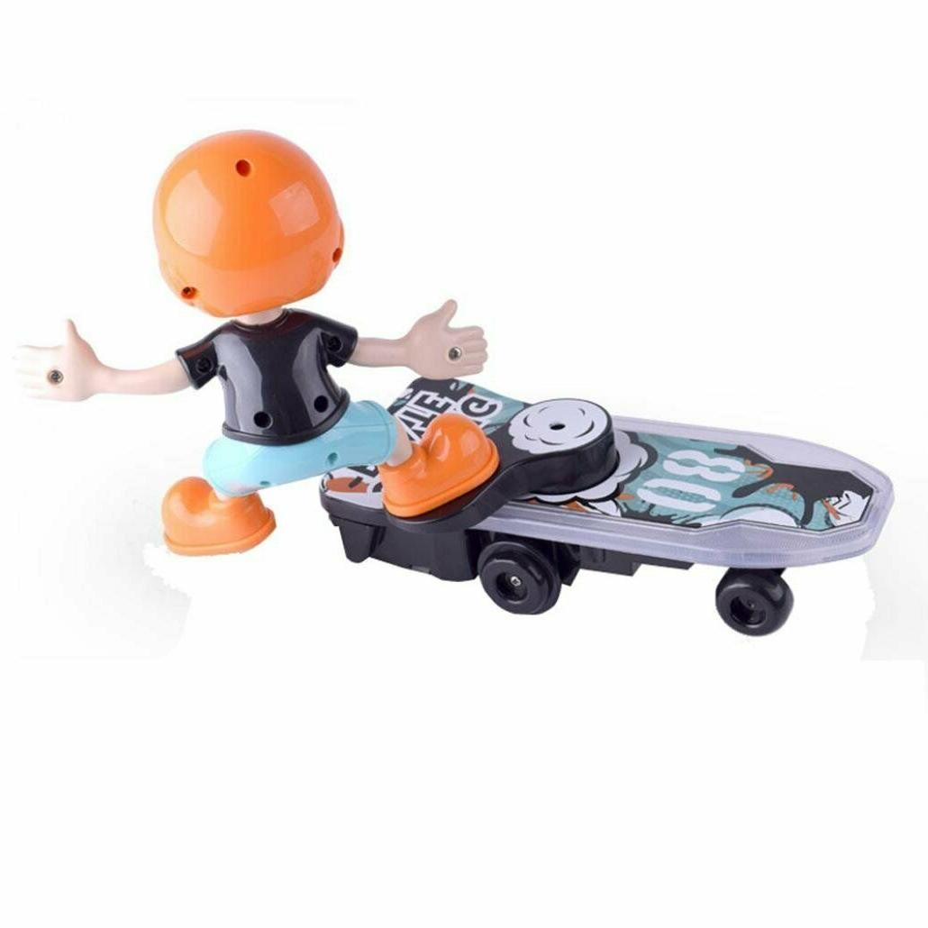 DOMENICO Fantasy Electric Stunt Scooter with Light