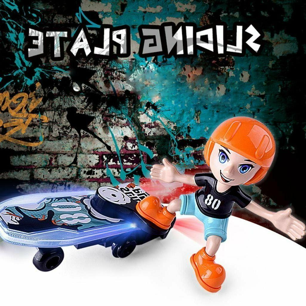 domenico fantasy cartoon electric stunt scooter skateboard
