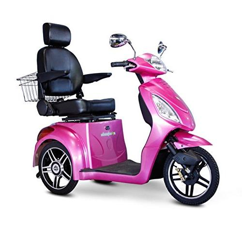 E-Wheels EW-36 Electric Senior Mobility Pink