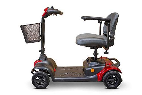 New E-Wheels Lightweight 4 Wheel Electric Travel Scooter