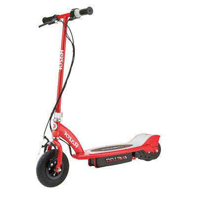 e100 electric scooter bikes riding