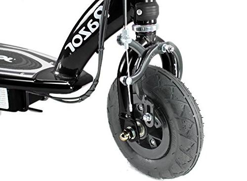 Razor Motorized Electric Rechargeable Ride-On Outdoor Scooter Black