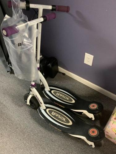 e100 power core electric scooter purple look