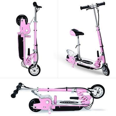 Maxtra E120 177lbs Maxload Electric Scooter Motorized Rechargeable Pink