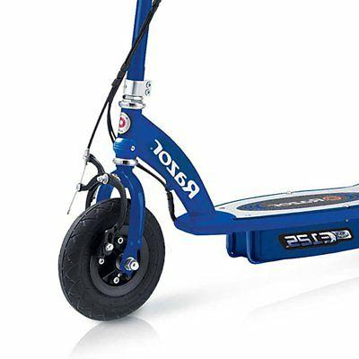 Razor Kids Ride On Powered Electric Scooter Blue