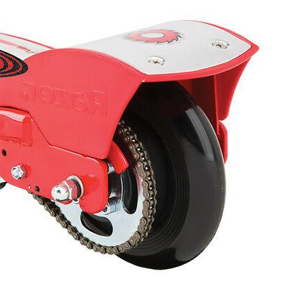 Razor E175 24V Rechargeable Electric Scooter, Red