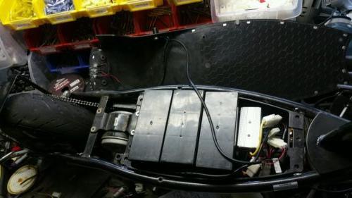 Razor E300 throttle, 36