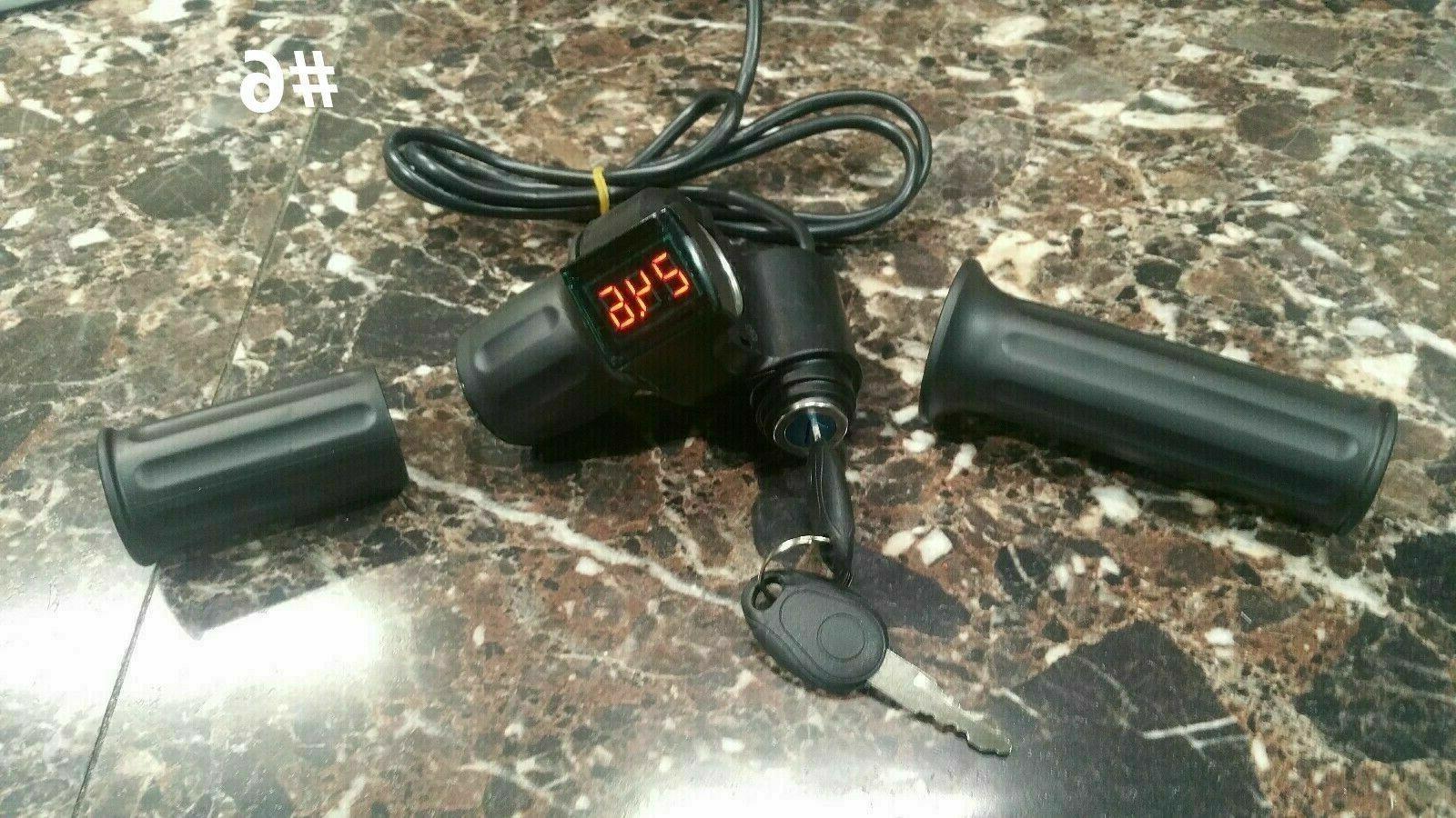 Razor throttle, controller, 36 Over Volt Kit