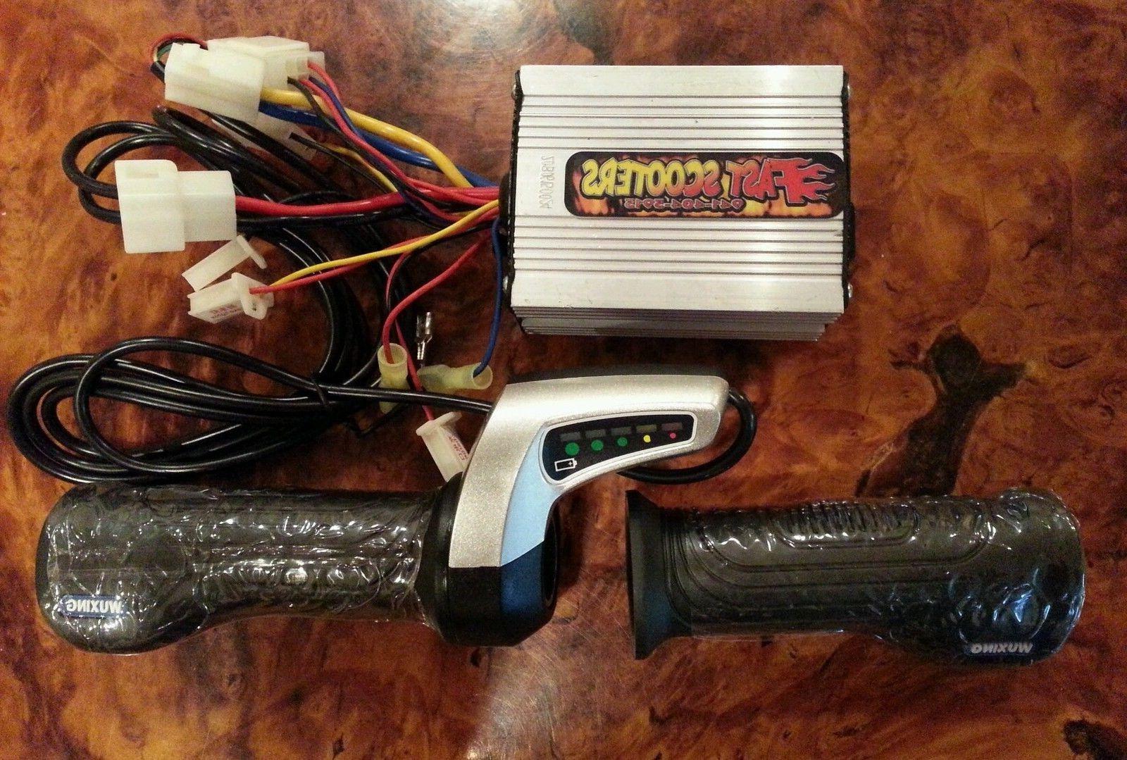 Razor upgraded throttle, controller, electrical kit- 36 Volt Kit