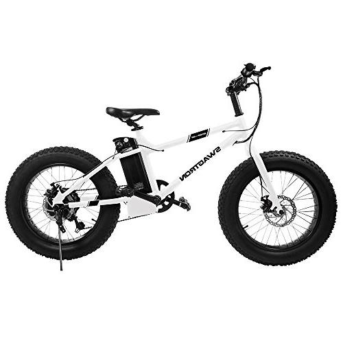 """Swagtron 4"""" Removable Battery, Disc SIS Trail"""