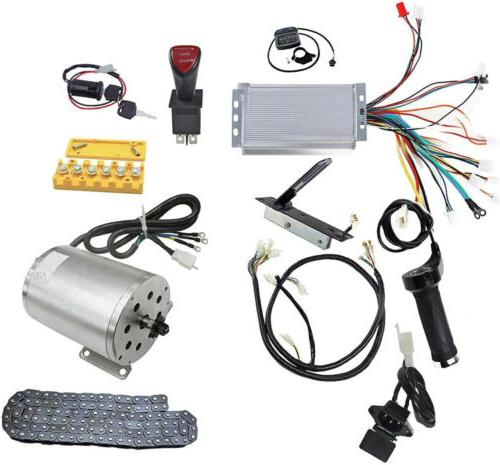 Wphmoto High Speed 48v Dc 1800w Brushless Electric Motor Manual Guide