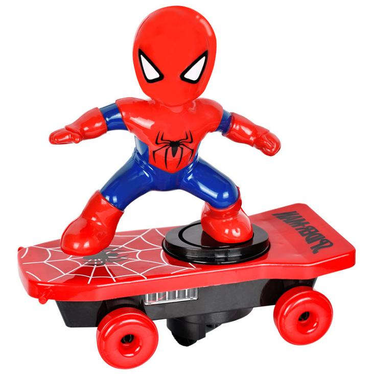 electric cartoon scooter toy child stunt skateboard