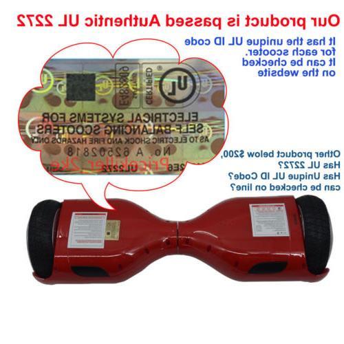 Electric Balancing Certified Bluetooth Ship
