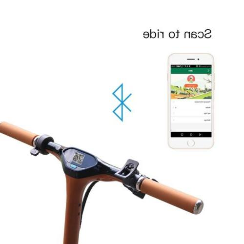 Electric Kick Scooter GPS LED