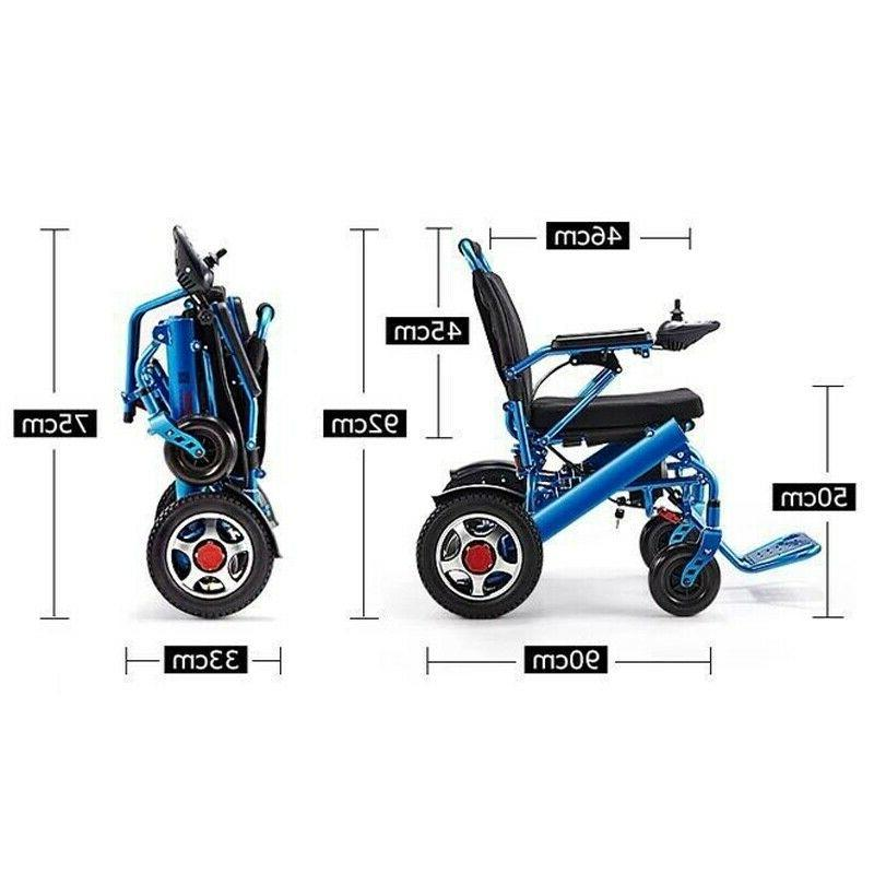 Electric Lightweight Power Wheelchair Mobility Motorized