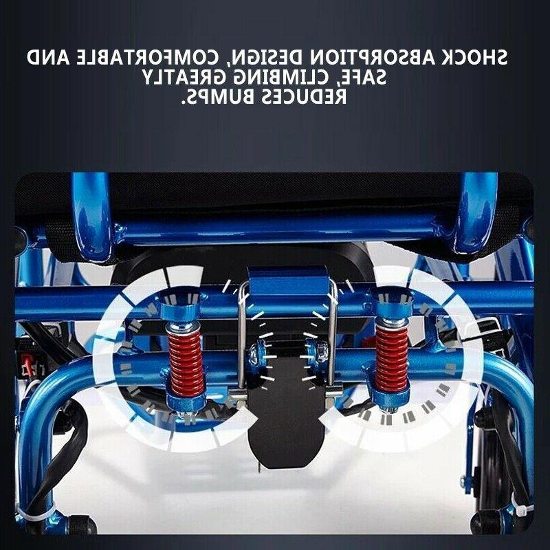 Electric Folding Wheelchair Medical Aid Motorized