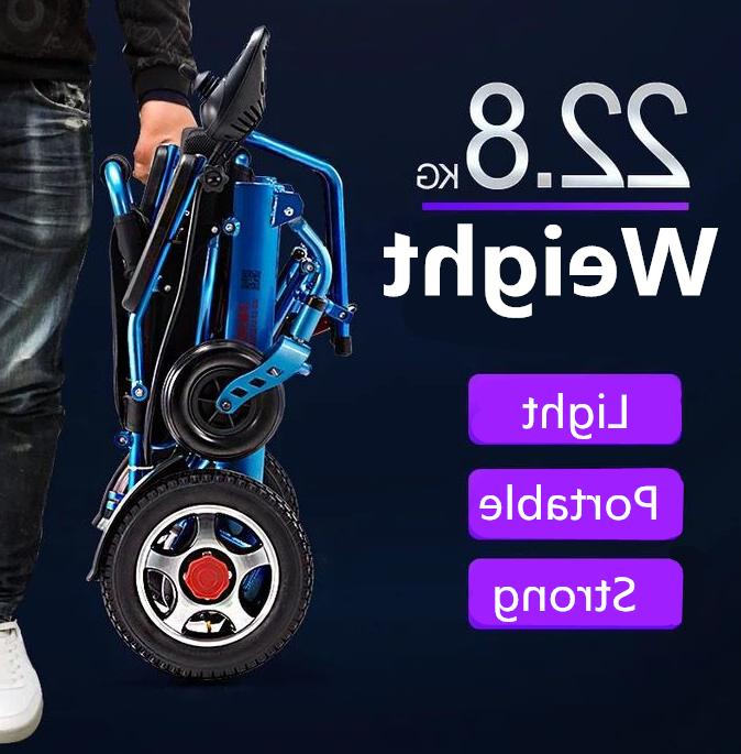 Electric Lightweight Wheelchair Mobility Aid Motorized
