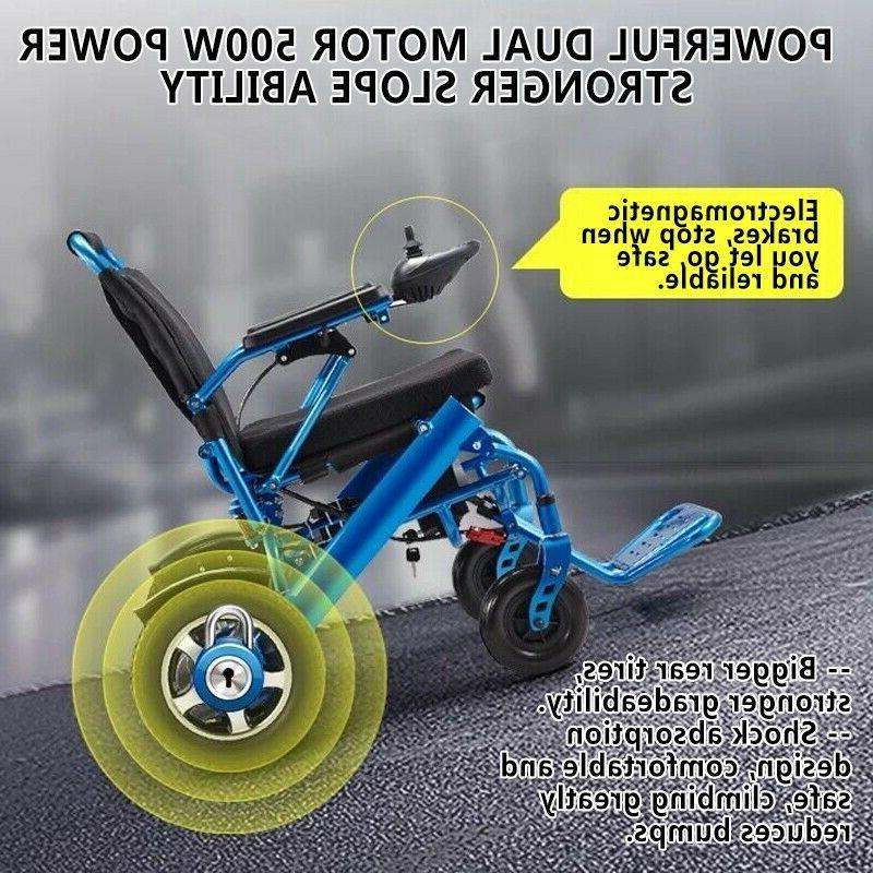 Electric Lightweight Wheelchair Aid Motorized