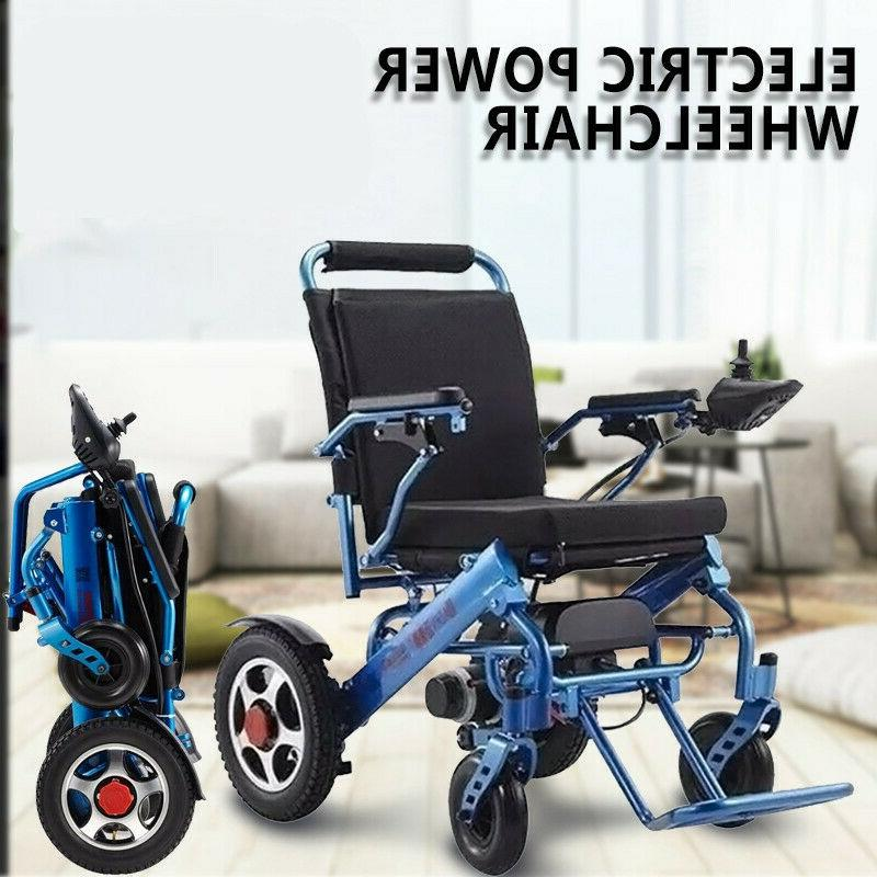 electric folding lightweight power wheelchair medical mobili