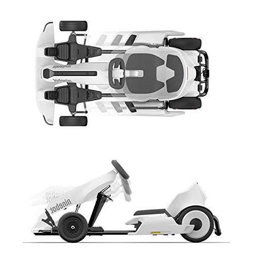 Ninebot Electric GoKart Kit for miniPRO Transporter , 12.4 15 Speed, Mobile App Control, LED Lights Cart