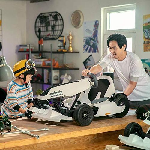 Ninebot for , 12.4 Mobile Lights Drifting Kids