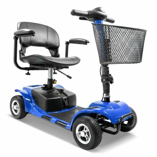 4 Wheel Mobility Scooter - Electric Powered Wheelchair Devic