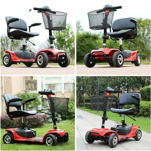 4 Wheels Electric Scooter for Adults Power Mobility Scooter