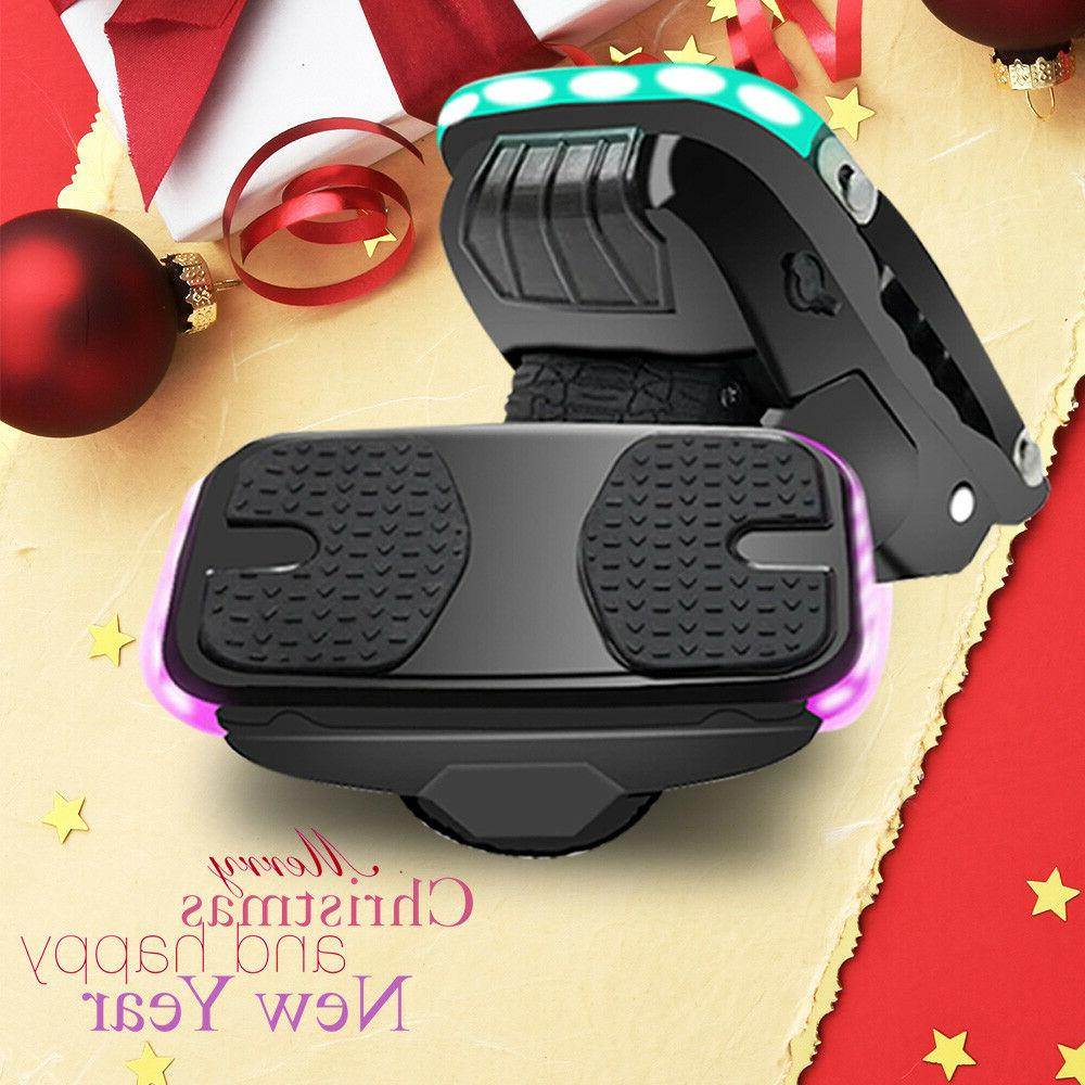 Hoverclub Dual Motor Electric Hover Shoes Self Balancing Sco