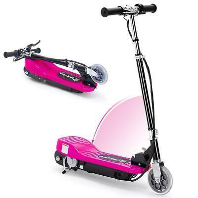 electric kids motorized ride on scooter bike