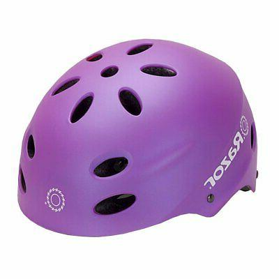 Razor Electric Silver Helmet + & Knee