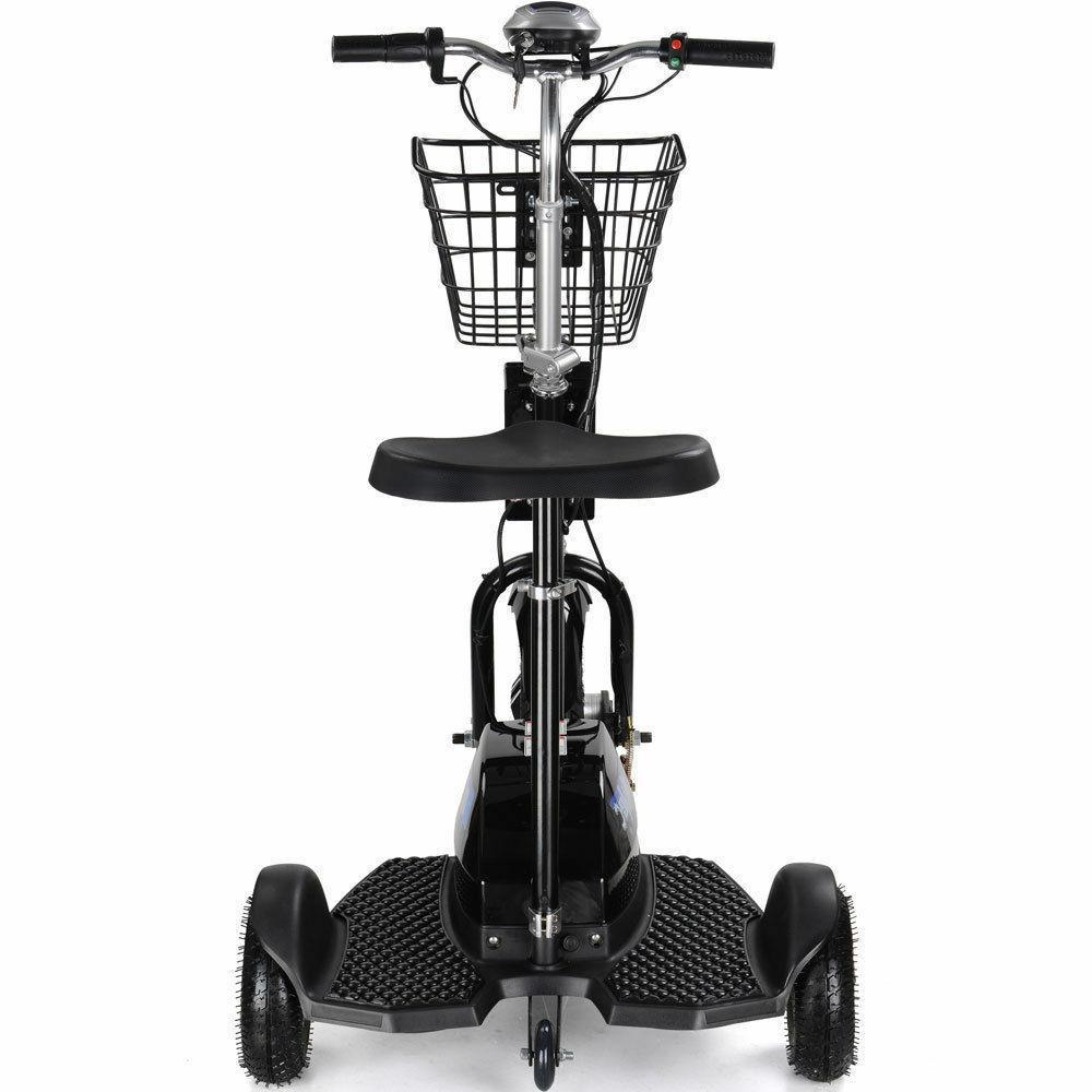 Electric Mobility Scooter MotoTec 3 Wheel Trike 48 Volt Travel MT-TRK-500
