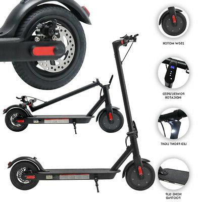 Electric Rechargeable Folding Scooter Black