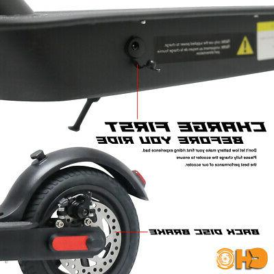 Electric Rechargeable Scooter Black