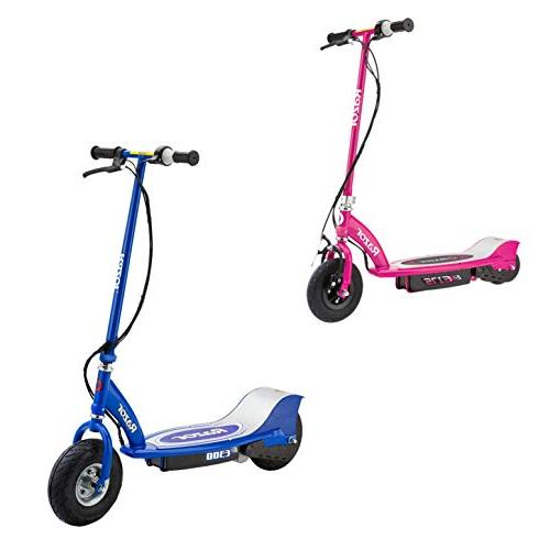 electric rechargeable motorized ride scooters