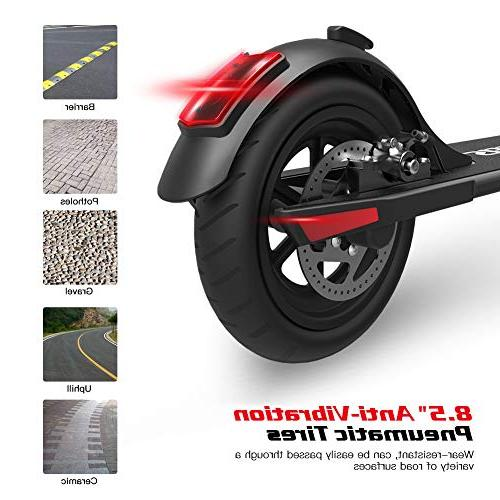 MEGAWHEELS Electric Powerful 250W 14 Range UP MPH, Portable 36V Battery, Design Adults